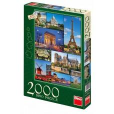 Dino 2000 - Paris Collage