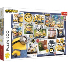 Trefl 500 - Pictures of minions