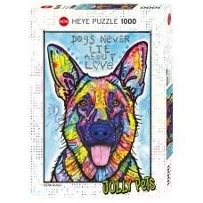 Heye 1000 - Dogs never lie, Dean Rousseau