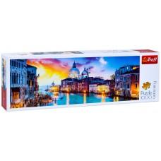 Trefl  1000  -  Canal Grande, Venice, - Panoramic puzzle