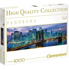 Clementoni  1000  - New York, - Panoramic puzzle