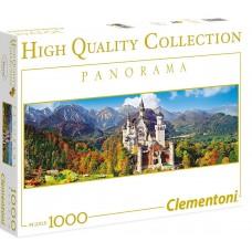 Clementoni  1000 - Neuschwanstein Castle, Germany, - Panoramic puzzle