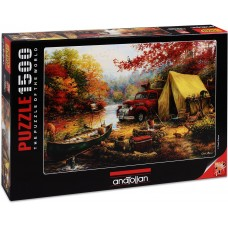 Anatolian 1500 - Camping with friends, Chuck Pinson