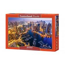 Castorland  1000  - Dubai at night