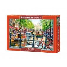 Castorland  1000  - Landscape in Amsterdam