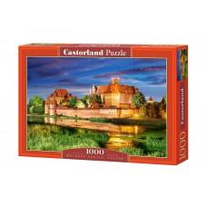 Castorland 1000  - Castle Malbork in Poland