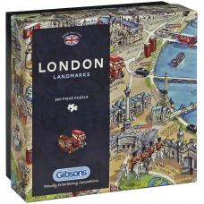 Gibsons 500 - Landmarks in London, Maria Rabinski