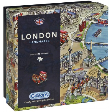 Gibsons 500 - Landmarks in London, Maria Rabinski