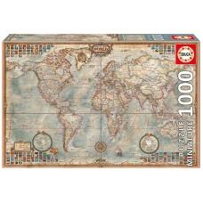 Educa 1000 - Political map of the world, miniature