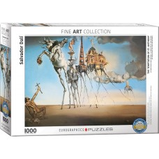 Eurographics 1000 - The Temptation of St. Anthony, Salvador Dali
