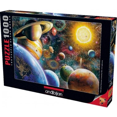 Anatolian  1000  -  Planets in Space, Adrian Chesterman