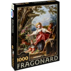 D-Toys 1000 - A game of blind grandmother, Jean-Honore Fragonar