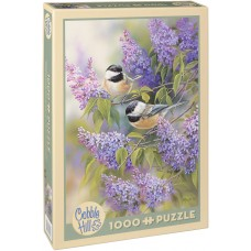 Cobble Hill 1000 - Birds and Lilacs, Rosemary Miletus