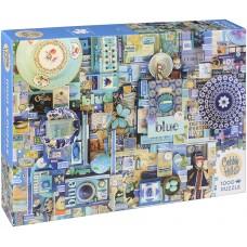 Cobble Hill 1000 - Blue, Shelley Davis