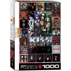 Eurographics 1000 - Kiss, album artwork