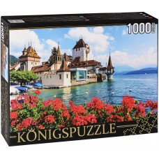 Königspuzzle 1000 - Castle in the Water