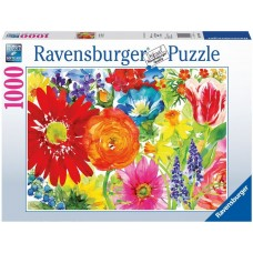 Ravensburger 1000 - Drawing with Flowers