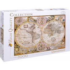 Clementoni 3000 - Ancient map of the world