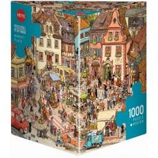 Heye 1000  - Market, Doro Goebbels and Peter Kornr