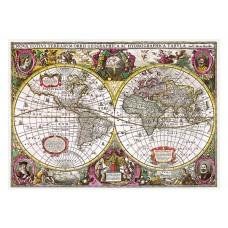Trefl  2000  - Earth Map