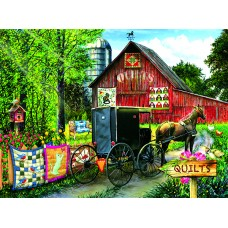SunsOut 1000  - Sale of amish bedclothes, Tom Wood