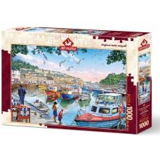 Art Puzzle  1000 - The small fisherman at the port, Arturo Zaragoza