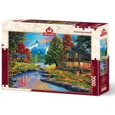 Art Puzzle  2000  - Both shores