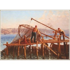Gold Puzzle  1000  - Fishermen bring the catch