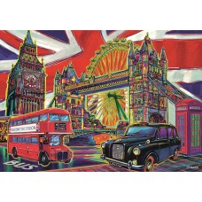 Trefl 1000 - The colors of London