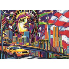 Trefl 1000  - The colors of New York