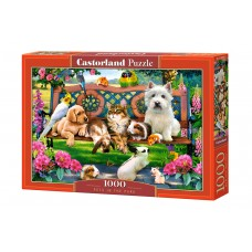 Castorland 1000  - Pets in the park