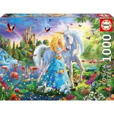 Educa 1000 - The princess and the unicorn
