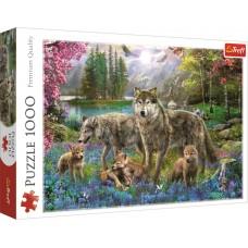 Trefl 1000 - The Wolf Family, Jan Patrick Krasny