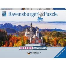 Ravensburger 1000 -  Neuschwanstein Castle, Bavaria