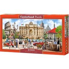 Панорамен пъзел Castorland от 4000 части - Великолепието на Рим, Ричард Макнийл