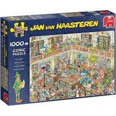 Jumbo 1000 - The Library, Jan van Haasteren