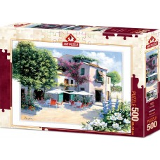 Art Puzzle 500 - Coffee Villa, Peter Motz