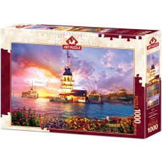 Art Puzzle 1000 - Maiden's Tower, Istanbul