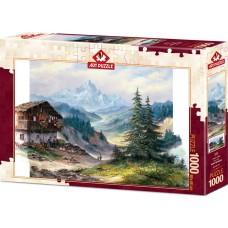 Art Puzzle 1000 - Green Valley, Rent Whithar
