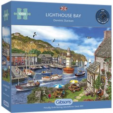Gibsons 1000 - Bay with a lighthouse, Dominic Davison