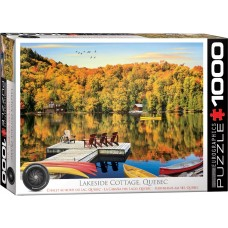 Eurographics 1000 - A hut by the lake in Quebec