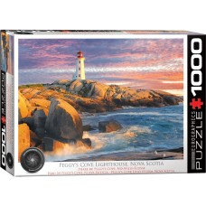 Eurographics 1000 - Peggy's Cove Lighthouse, Nova Scotia