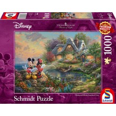 Schmidt 1000 - Mickey and Minnie in love, Thomas Kincaid