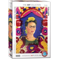 Eurographics 1000 - Frida Kahlo, portrait with birds