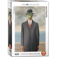 Eurographics 1000 - The Son of Man, Rene Magritte
