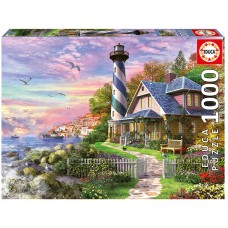 Educa 1000 - Lighthouse by the rocky bay