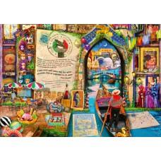 Bluebird 1000 -  Life is an open book, Venice, Amy Stewart